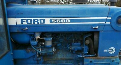 Ford 5600 Hood Decal Kit