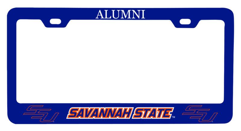 Savannah State University Alumni License Plate Frame New for 2020