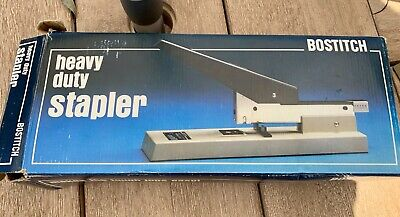 Vintage Bostitch Heavy Duty Stapler Model B300 In Box - Staples 100 Sheets