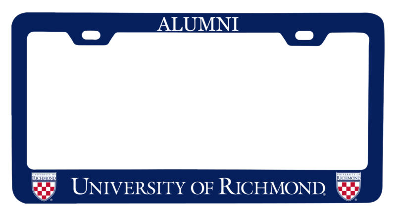Richmond Spiders Alumni License Plate Frame New for 2020