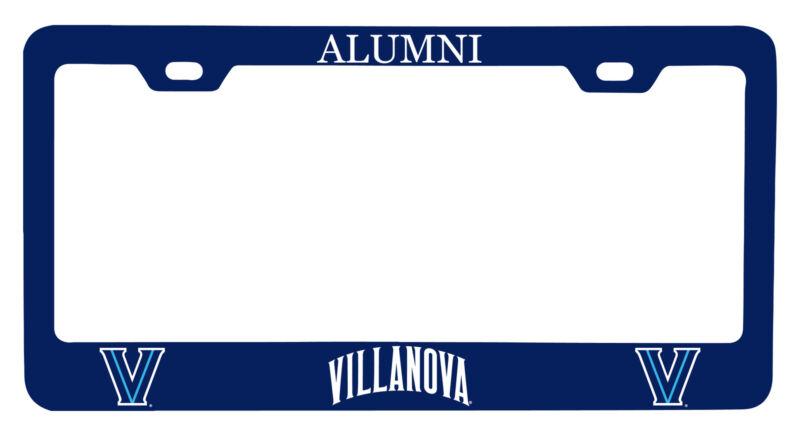 Villanova Wildcats Alumni License Plate Frame New for 2020