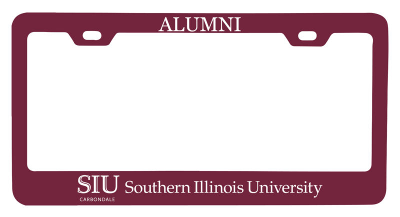 Southern Illinois Salukis Alumni License Plate Frame New for 2020