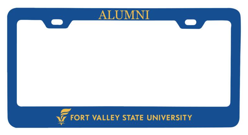 Fort Valley State University Alumni License Plate Frame New for 2020