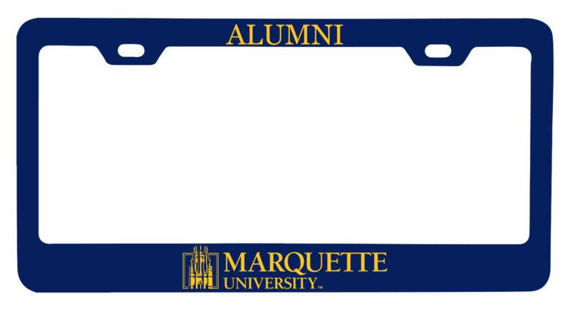 Marquette Golden Eagles Alumni License Plate Frame New for 2020