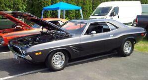 72 Dodge Challenger, Mopar, Chrysler, Plymouth