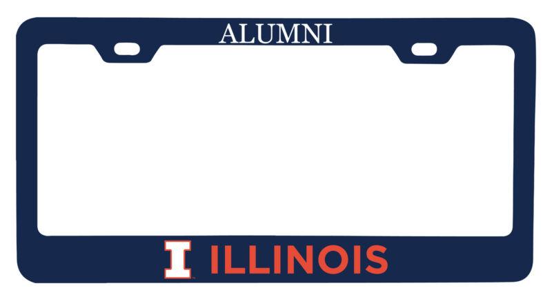 Illinois Fighting Illini Alumni License Plate Frame New for 2020