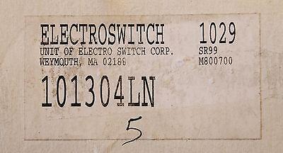 Electroswitch 101304ln 1029 Sr99 M800700 Selector Switch