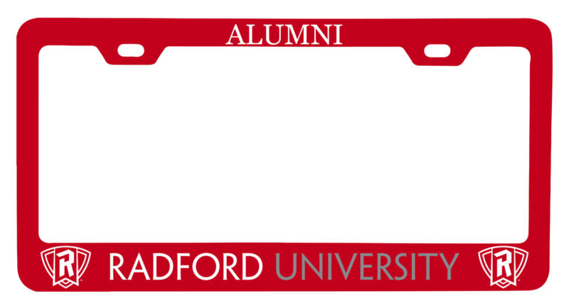 Radford University Highlanders Alumni License Plate Frame New for 2020