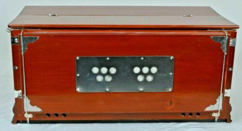 Harmonium 7 Stopper Multi Bellow 39 Key 440Hz Indian Musical Instrument