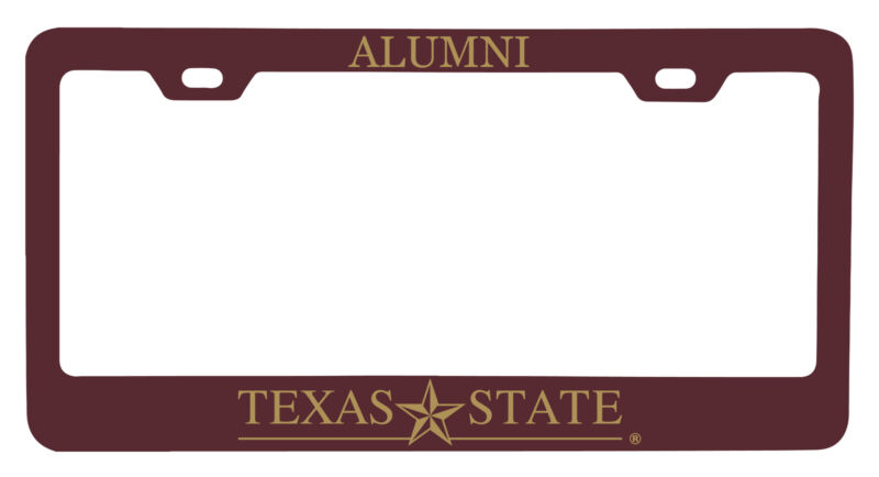 Texas State Bobcats Alumni License Plate Frame New for 2020