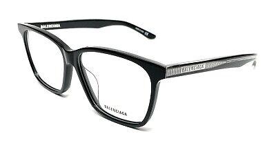 Balenciaga BB0023OA Eyeglasses 004 Multicolor-Light Blue 55mm