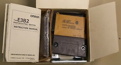 Omron Photo Electric Switch E3b2-r7m4-us 12 To 240vac 24 To 240vac