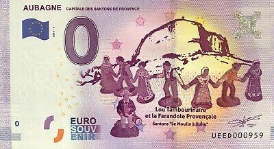 Euro Krippe (Geldschein 0 Null Euro Souvenir Aubagne die Krippenfiguren Provence 2016-4 Nr.)