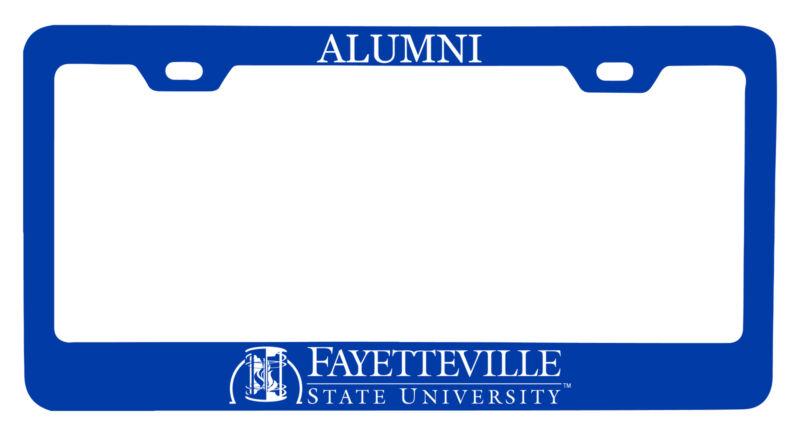Fayetteville State University Alumni License Plate Frame New for 2020