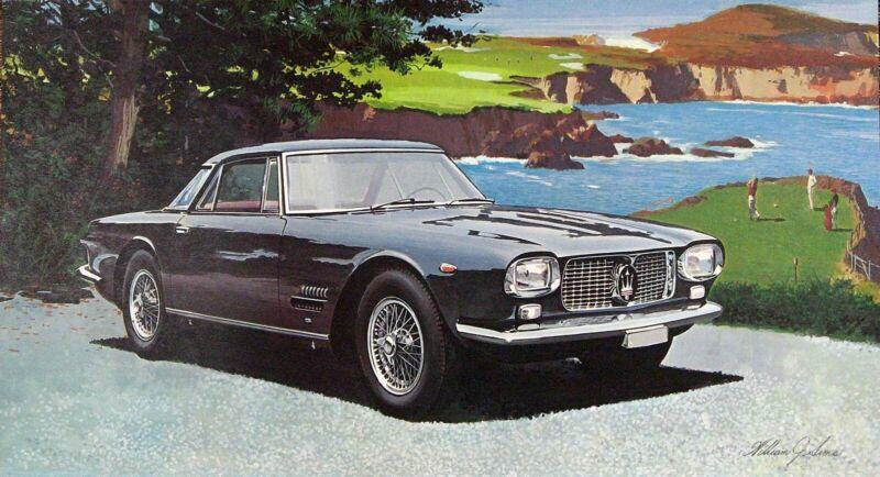 "TRW ""THE MILESTONE CARS II"" 1981 CALENDAR FOLIO SET 12 AUTOMOBILE LITHO PRINTS"
