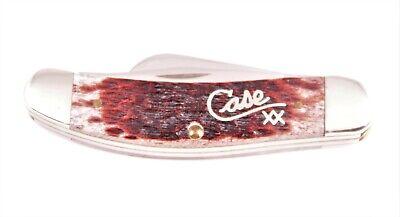 Case XX Sowbelly Knife Tony Bose TB6339 SS Cranberry Script NEW!