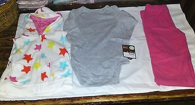 #1  Carters-Girls-Baby's Cuddly Cute Combo   - 18 months NWT