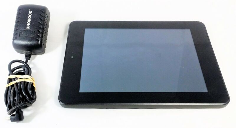 UNOBOOK 2 in 1 Education Tablet 13GB Black-Android 4.0.3