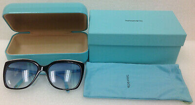 Tiffany & Co TF4135-B-F ~ 56☐17 140 Sunglasses ~ Has a Prescription (Tiffany And Co Prescription Sunglasses)