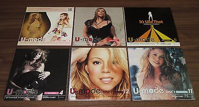 All PROMO ONLY! MARIAH CAREY pic sleeve 6 x JAPAN various artist compilation CD