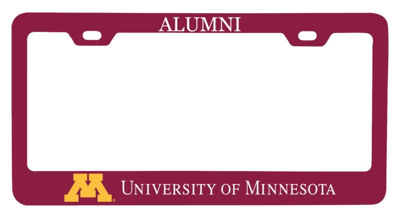 Minnesota Gophers Alumni License Plate Frame New for 2020
