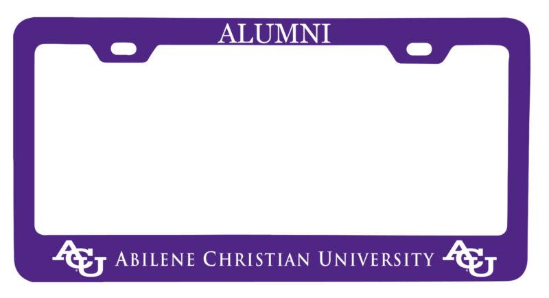 Abilene Christian University Alumni License Plate Frame New for 2020