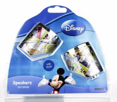 Disney Mickey Mouse Speakers - Colour Plate