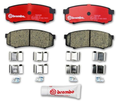 For Brembo P06026N Rear Disc Brake Pad Premium Ceramic OE Alternative