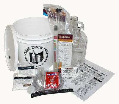 $47.99 - Home Brew Ohio One Gallon Mead Starter Kit