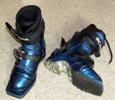 AS NEW Telemark Cross Country Ski Boots  Size 5WUS Scarpa T2 Palmerston Gungahlin Area Preview