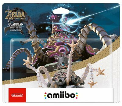 AMIIBO THE LEGEND OF ZELDA - BREATH OF THE WILD STATUA GUARDIANO LINK NINTENDO