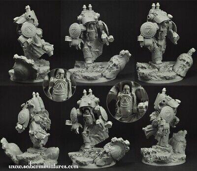 Scribor Miniatures: Spartan Cruiser Mech Suit #1 (1) - SMM-28SF0119 - Spartan Suit
