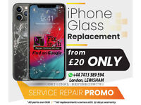Cracked Glass Replacement Services iPhone 11 Pro Max 11 Pro 11 XS-MAX XS X 8 Plus 7 Plus 8 7