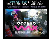 GRAND OPENING SALE ✨🎨 50% off PRO MIXING & MASTERING for Artists & Musicians in Brighton!