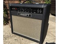 HiWatt SA112 Custom 50 watt valve guitar amplifier