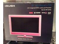 Tv/DVD combi in pink