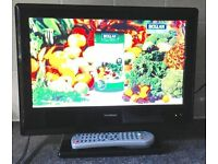 15 inch HD Flat LCD TV Goodmans LD1547d Freeview Digital HDMI LCD Television