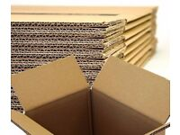 "10 XXX LARGE Cardboard House Moving Boxes Removal Packing Box 80x43x48cm (31.5x17x19"")"