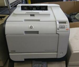 HP COLOR LASERJET CP2025 PRINTER PAGECOUNT : 10K *NO FURNITURE NO TONERS*