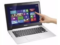 ASUS VivoBook – 13.3″ LAPTOP WITH TOUCH-SCREEN - Core i5 3337U - 4 GB RAM - 500 GB HDD - English