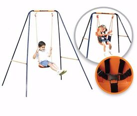 Hedstrom 2 in 1 Deluxe Swing