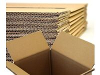 15 LARGE Cardboard House Moving Boxes Removal Packing Box 20x13x12.5 Inches