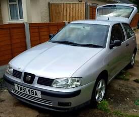 2001 Seat Ibiza Chill 1.4