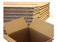 10 XX LARGE Cardboard House Moving Boxes Removal Packing Box 23x15x20 Inches