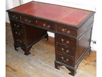 ANTIQUE STYLE WRITING DESK - GOOD CONDITION
