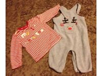 Christmas clothes in great condition, 50p each.