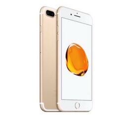 iPhone 7 Plus, 128GB, Gold, Unlocked - New and Enclosed