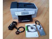 HP Officejet 6300 All-in-One Inkjet Printer Scanner Copier Fax