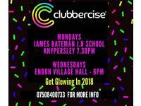 Clubbercise Class Knypersley/Biddulph