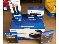PlayStation VR Ultimate Bundle - PS VR + Move Controls + Camera + 2 Games!